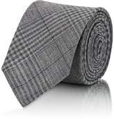 Thom Browne Men's Gingham Lightweight Wool Necktie