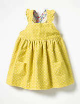Boden Ruffly Cord Pinafore