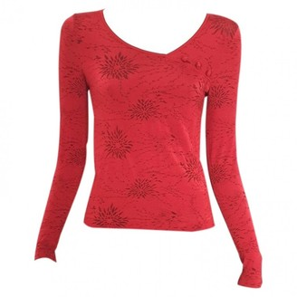 Wolford Red Cotton Tops