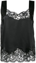 Givenchy sleeveless lace top - women - Silk/Cotton/Polyamide - 40
