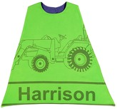 Green Tractor Personalized Cape