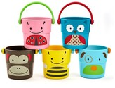 Skip Hop Stack Pour Buckets Bath Toy Multicolor 5Pc