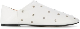 Joseph studded flat loafers