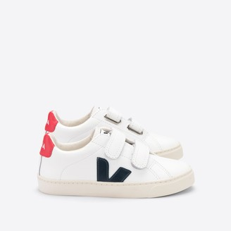 Veja Kids' Esplar Leather Trainers with Touch 'n' Close Fastening