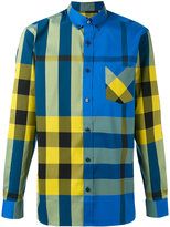 Burberry checked shirt - men - Cotton/Polyamide/Spandex/Elastane - XL