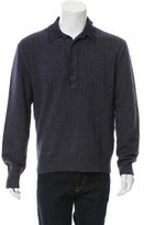 Tom Ford Cashmere-Blend Polo Sweater