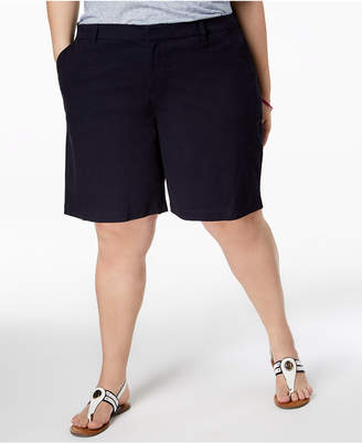 Tommy Hilfiger Plus Size Chino Shorts