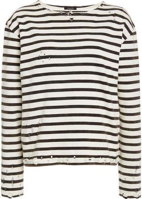 R 13 Brenton Striped Long Sleeve Tee