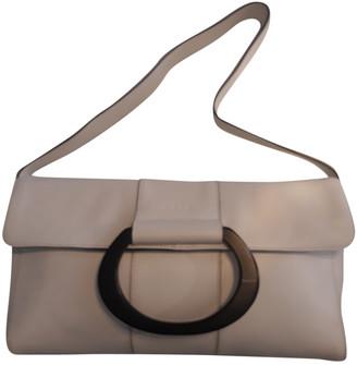 Krizia White Leather Handbags