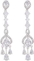 Nadri CZ Embellished Chandelier Drop Earrings