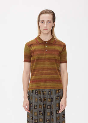 Needles Short Sleeve Polo Sweater