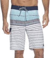 Men's Trinity Collective Exhibit Striped Stretch Board Shorts