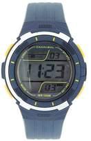 Cannibal Active Teen Boy's Digital Multifunction Blue Strap Watch CD210-05