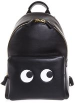 Anya Hindmarch Leather Backpack With Eyes Patch