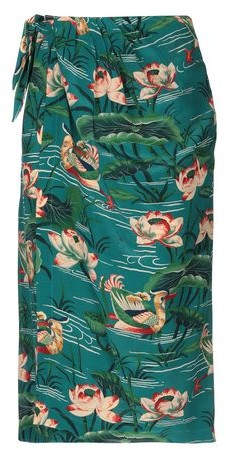 Stella Jean 3/4 length skirt
