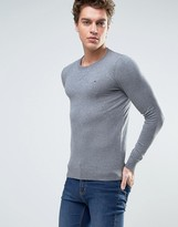 Tommy Hilfiger Denim Crew Neck Jumper