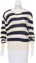 Acne Studios Striped Knit Top