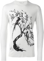 Alexander McQueen skull tree jumper - men - Silk/Wool - M