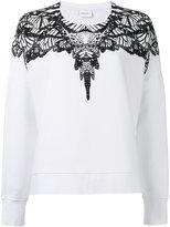 Marcelo Burlon County of Milan printed sweatshirt - women - Cotton - S
