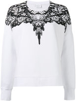 Marcelo Burlon County of Milan printed sweatshirt - women - Cotton - XS