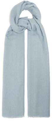 Denis Colomb Nomad Woven Cashmere Scarf - Womens - Blue