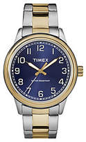 Timex Men's New England Two-Tone Stainless Analog Watch
