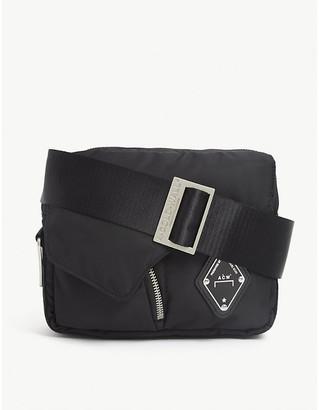 A-Cold-Wall* Logo-patch padded nylon cross-body bag