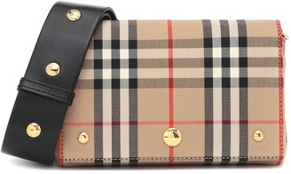 Burberry Small Vintage Check crossbody bag