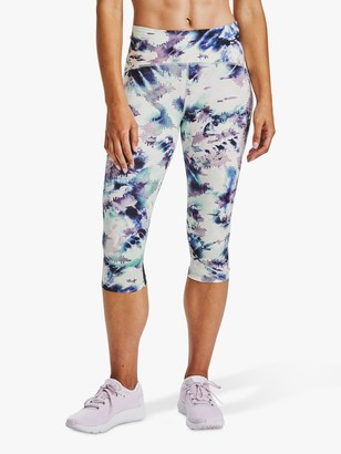 Under Armour Fly Fast Printed Capri Running Tights