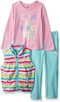 Puma Little Girl's Girls' Three Piece Micro Fleece Set Sweater