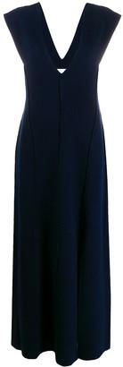 Jil Sander knitted maxi dress