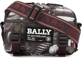 Bally Graphic-Print Messenger Bag