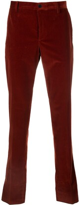 Etro Skinny-Fit Corduroy Trousers