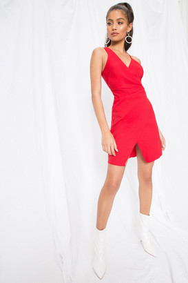 by the way. Karina Asymmetric Mini Dress