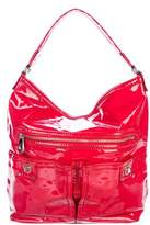 Marc by Marc Jacobs Patent Leather Zip Hobo