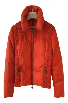 Moncler Orange Synthetic Jackets