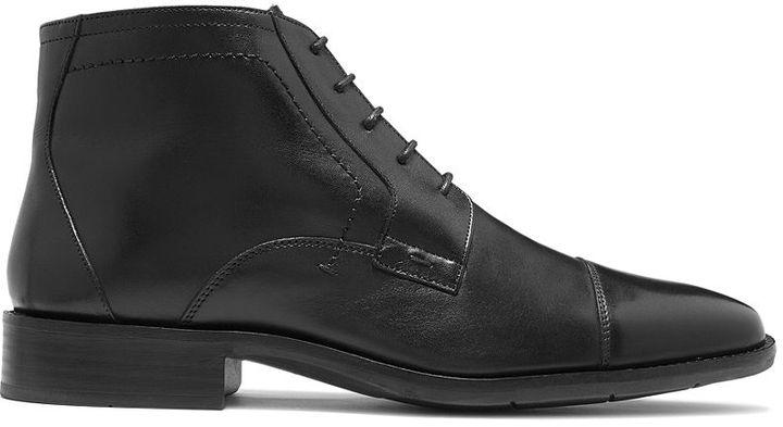 Johnston & Murphy Larsey Cap-Toe Lace-Up Boots