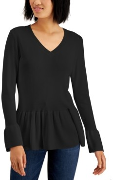 Fever Peplum Sweater