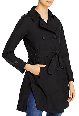 Herno Laminar Double-Breasted Trench Coat
