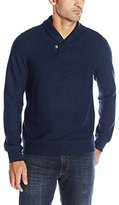 Perry Ellis Men's Pull-Over Shawl Collar Knit