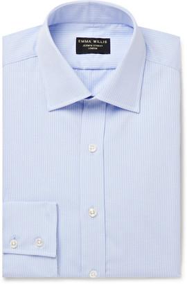 Emma Willis Striped Cotton-Seersucker Shirt