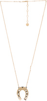 Lanvin Pendant Horseshoe Necklace