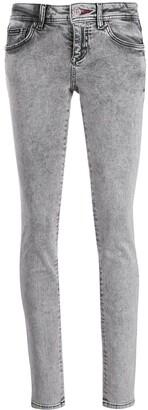 Philipp Plein Acid Wash Skinny Jeans