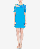 Catherine Malandrino Lattice-Trim T-Shirt Dress