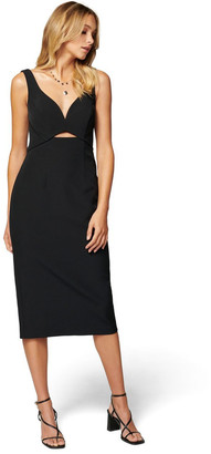 Forever New Layla Cut Out Midi Dress
