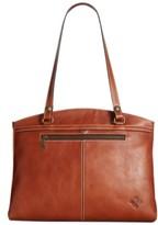 Patricia Nash Poppy Smooth Leather Shoulder Bag