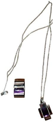 Gucci Purple Silver Jewellery sets