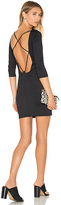 David Lerner Back Strappy 3/4 Sleeve Dress