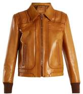 Prada Zip-through leather jacket
