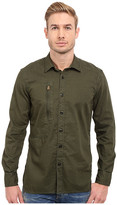 G Star G-Star Powel 3D Long Sleeve Shirt in Lightweight Lopp Overdye